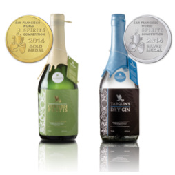 Tarquin's Cornish Gin & Pastis win medals at World Spirits Competition