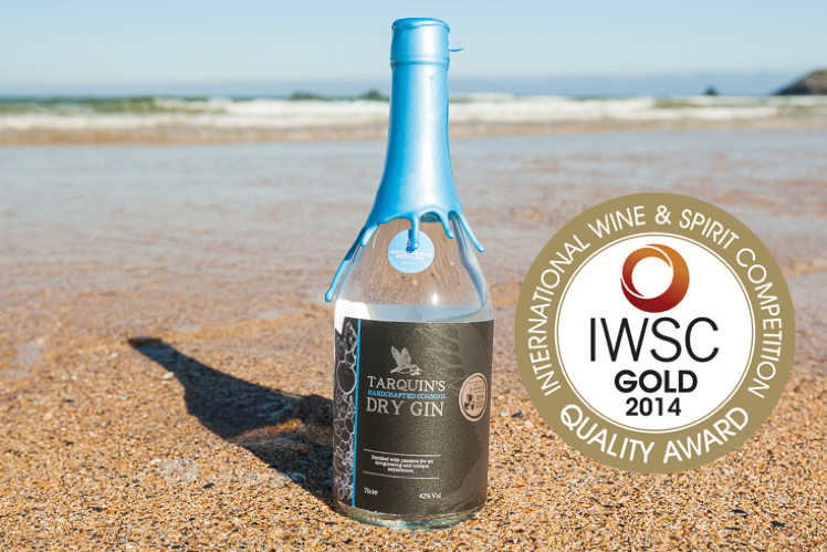International Gold Award for Tarquin's Cornish Gin