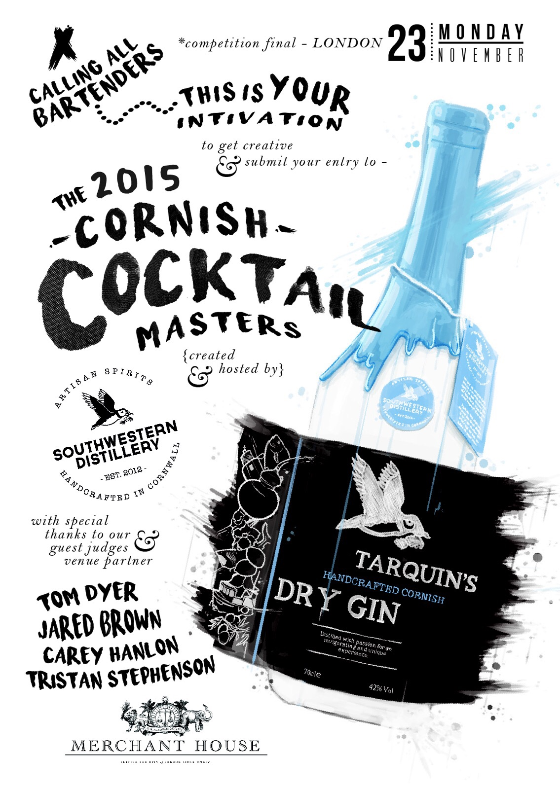 Tarquin's Cornish Cocktail Masters Competition 2015